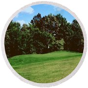 Brookhill Golf Course Round Beach Towel