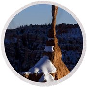 Bryce Canyon National Park Utah Round Beach Towel