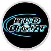 Bud Light Round Beach Towel
