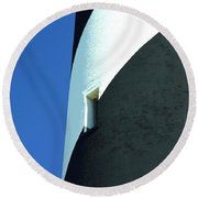 Cape Hatteras Lighthouse Round Beach Towel