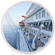 Carnival Elation Round Beach Towel