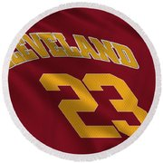 Cleveland Cavaliers Uniform Round Beach Towel