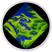 Diamond 210 Round Beach Towel