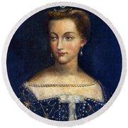 Diane De Poitiers (1499-1566) Round Beach Towel