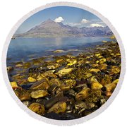 Elgol Round Beach Towel