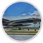 F-4 Phantom II Round Beach Towel