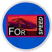 Fast Approved Round Beach Towel