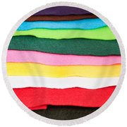 Felt Round Beach Towel