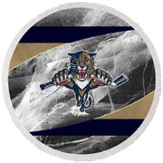 Florida Panthers Round Beach Towel