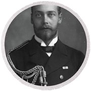 George V (1865-1936) Round Beach Towel