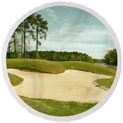 Grand National Golf Course - Opelika Alabama Round Beach Towel