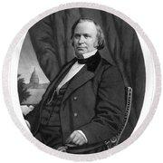 Henry Wilson (1812-1875) Round Beach Towel