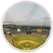 Home Of The Dodgers Round Beach Towel
