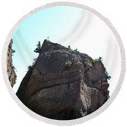 Hopewell Rocks Round Beach Towel