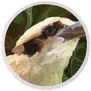 Kookaburra Round Beach Towel