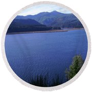 Lakes 4 Round Beach Towel