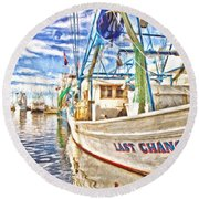 Last Chance - Hdr Round Beach Towel