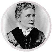 Lucretia Garfield (1832-1918) Round Beach Towel