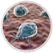 Macrophages Round Beach Towel