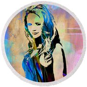 Miranda Lambert Collection Round Beach Towel
