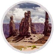 Monument Valley - Arizona Round Beach Towel