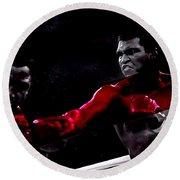 Muhammad Ali Round Beach Towel
