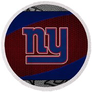 New York Giants Round Beach Towel