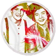 One Direction Round Beach Towel