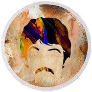 Paul Mccartney Collection Round Beach Towel