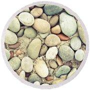 Pebbles Round Beach Towel