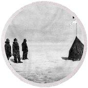 Roald Amundsen (1872-1928) Round Beach Towel