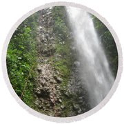 Rock Climbing Rope Climbing Costa Rica Vacations Waterfalls Rivers  Recreation Challanges  Facilitie Round Beach Towel