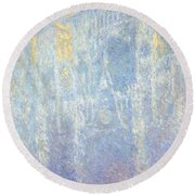 Rouen Cathedral Round Beach Towel