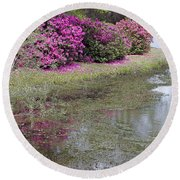 Spring In Mississippi Round Beach Towel
