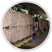 Steve Irwin Memorial Round Beach Towel