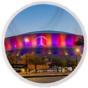 Superdome Round Beach Towel