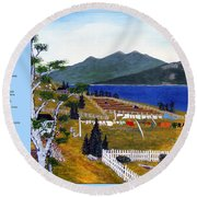The Clothesline Round Beach Towel