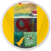 3 Way 2 Round Beach Towel