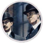 Wright Brothers Round Beach Towel
