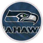 Seattle Seahawks Round Beach Towel