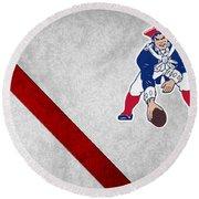 New England Patriots Round Beach Towel