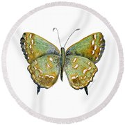 38 Hesseli Butterfly Round Beach Towel