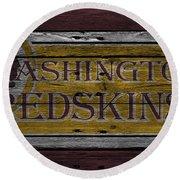 Washington Redskins Round Beach Towel