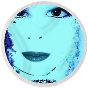 Amanda Round Beach Towel
