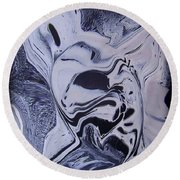 Abstract 56 Round Beach Towel