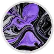 Abstract 57 Round Beach Towel