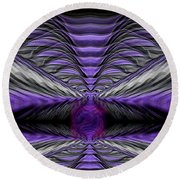 Abstract 75 Round Beach Towel