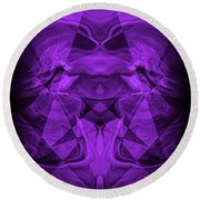 Abstract 93 Round Beach Towel