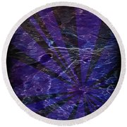Abstract 95 Round Beach Towel