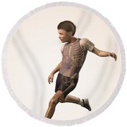 Anatomy Of Movement Child Round Beach Towel